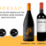 Borsao wins two silver medals in Bacchus 2020