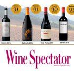 4 vinos de Borsao considerados como excepcionales por Wine Spectator, el medio más prestigioso del mundo
